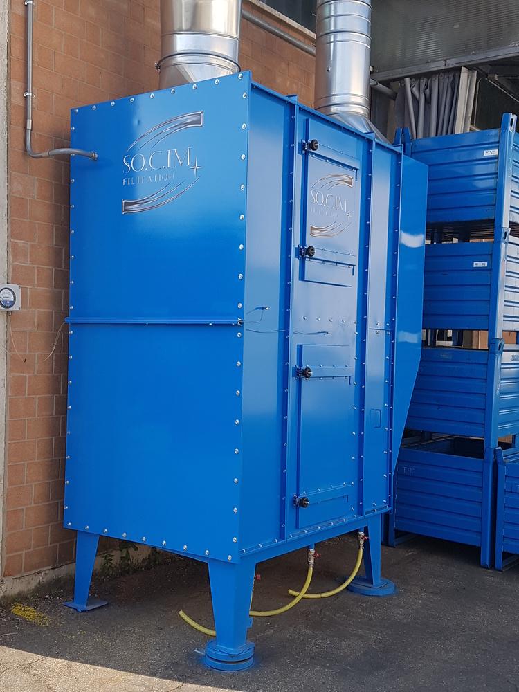 Impianti filtrazione nebbie oleose - 1